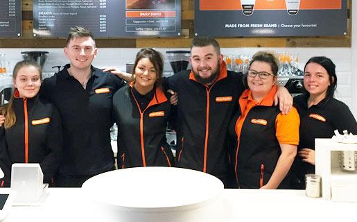 easyCoffee Burnley staff