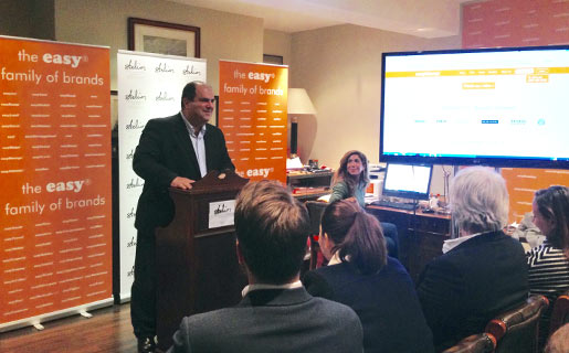 Stelios hosts easy family of brands meeting