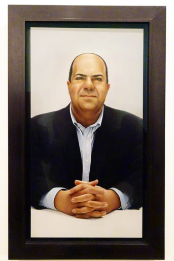 Sir Stelios in National Portrait Gallery