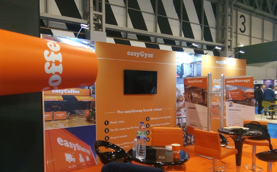 easyGroup at Birmingham NEC