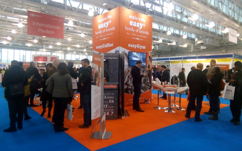 easyGroup feature at the British and International Franchise Exhibition, london Olympia